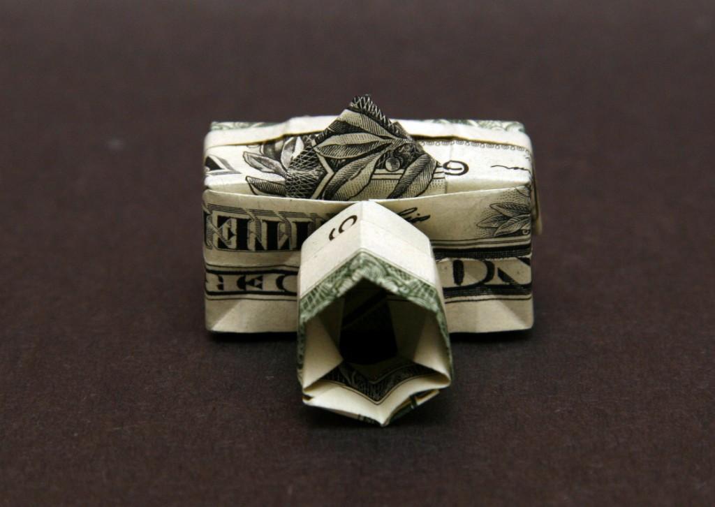 dollar bill owl instructions