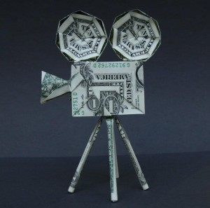 Movie Projector – Dollar Bill Origami