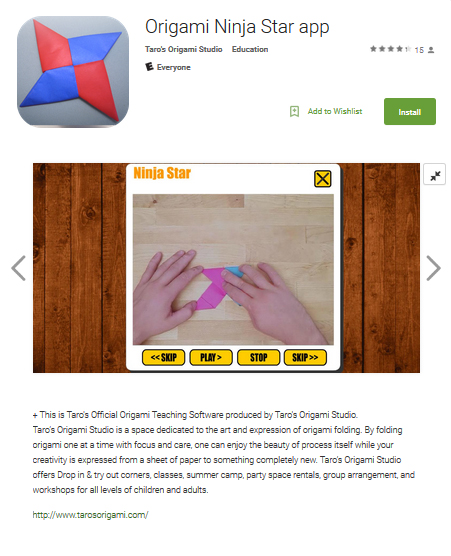 Taros Origami Apps Are Available On Android Taros Origami Studio