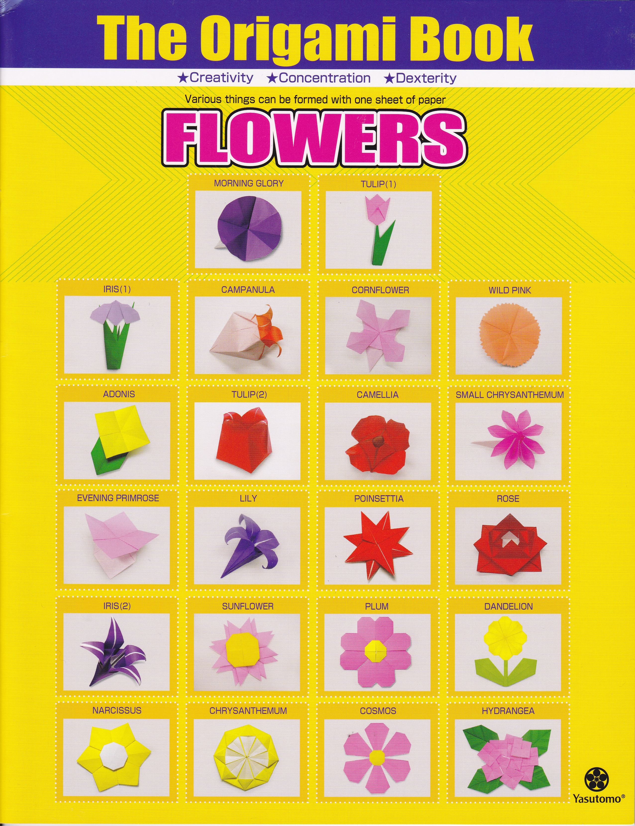 Origami Flowers Book